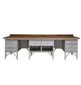 Industriële werkbank / industrieel dressoir
