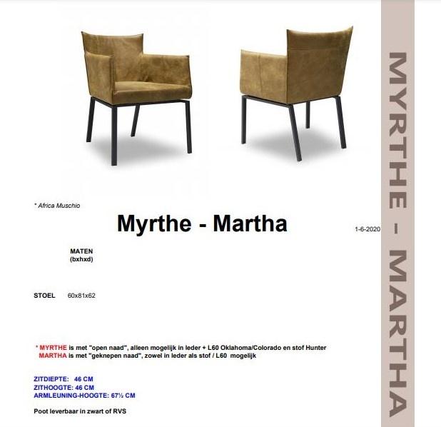Het Anker Eetkamerstoel Myrthe| Het Anker