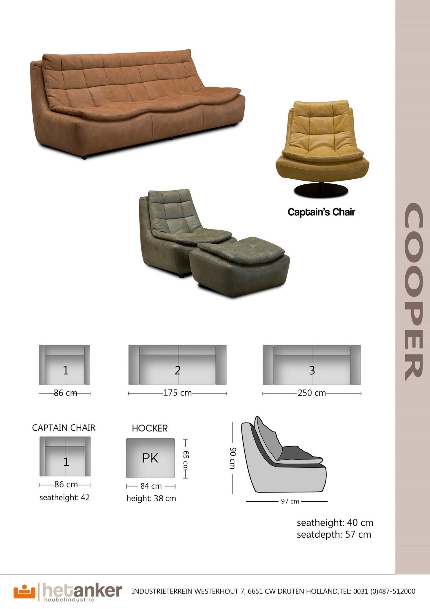 Het Anker Fauteuil Cooper | Het Anker