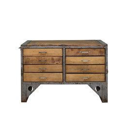 Industrieel meubel Industrieel ladeblok