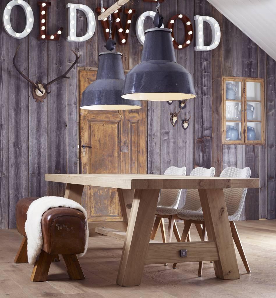 Lampen Industriële lamp Barrel XXL