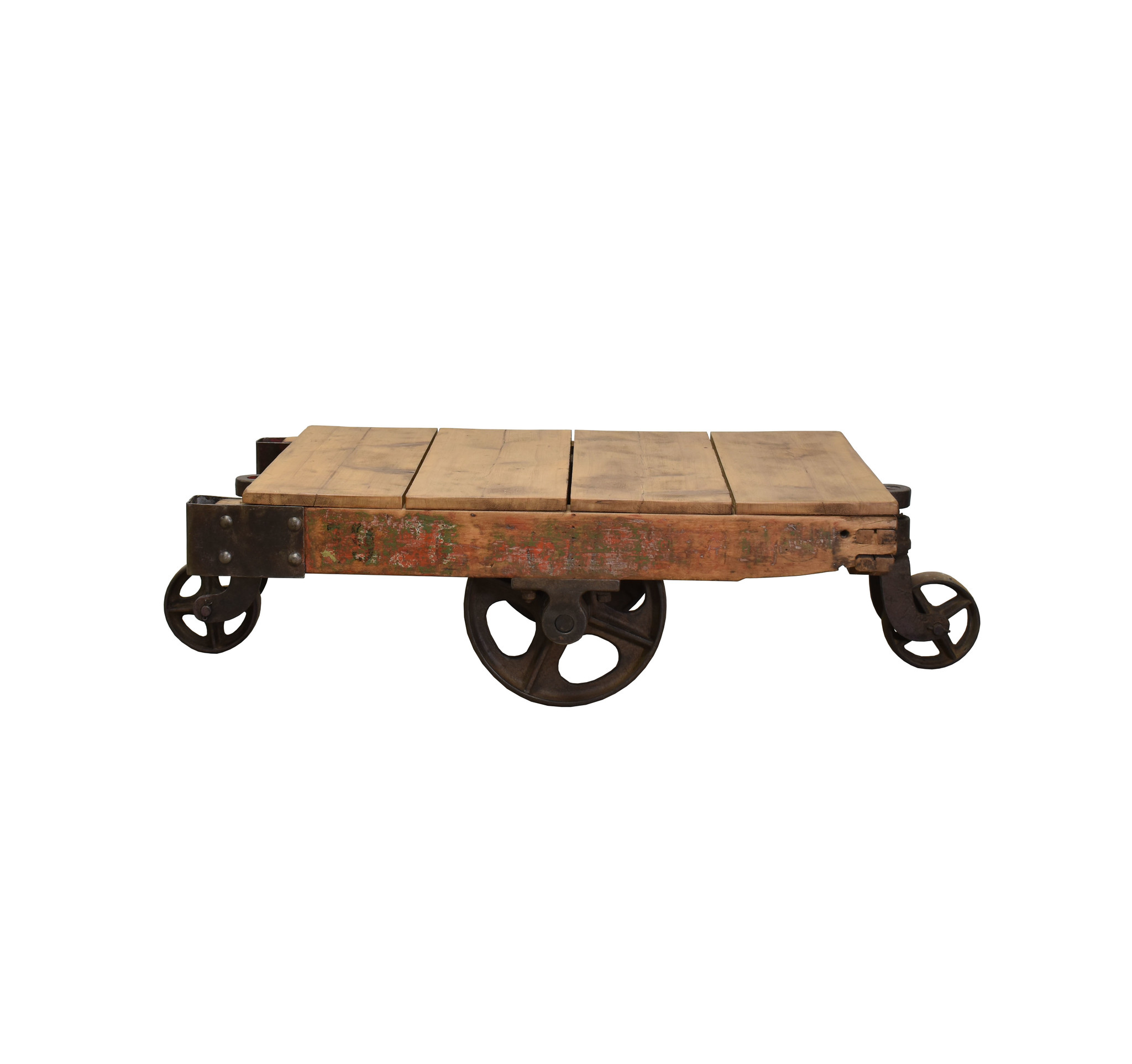 Palletkar salontafel