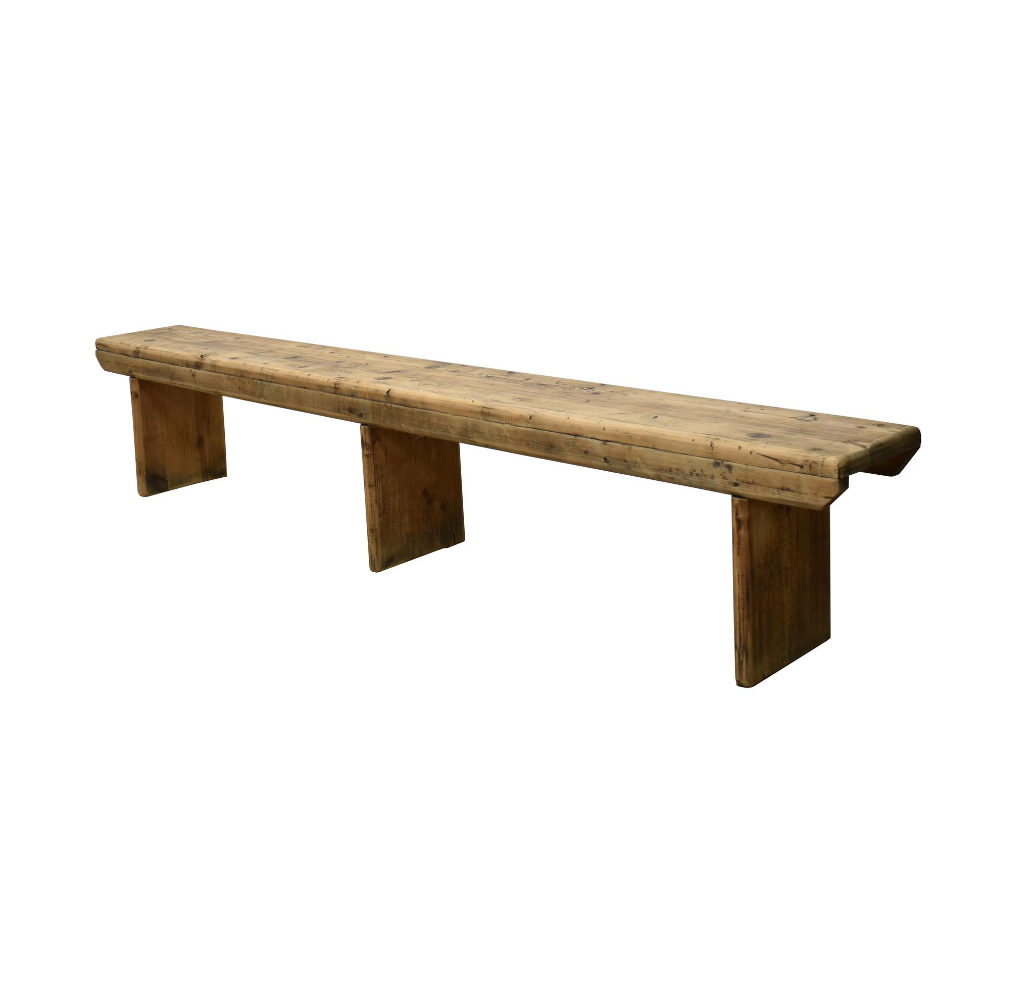 oldwood houten hal bankje