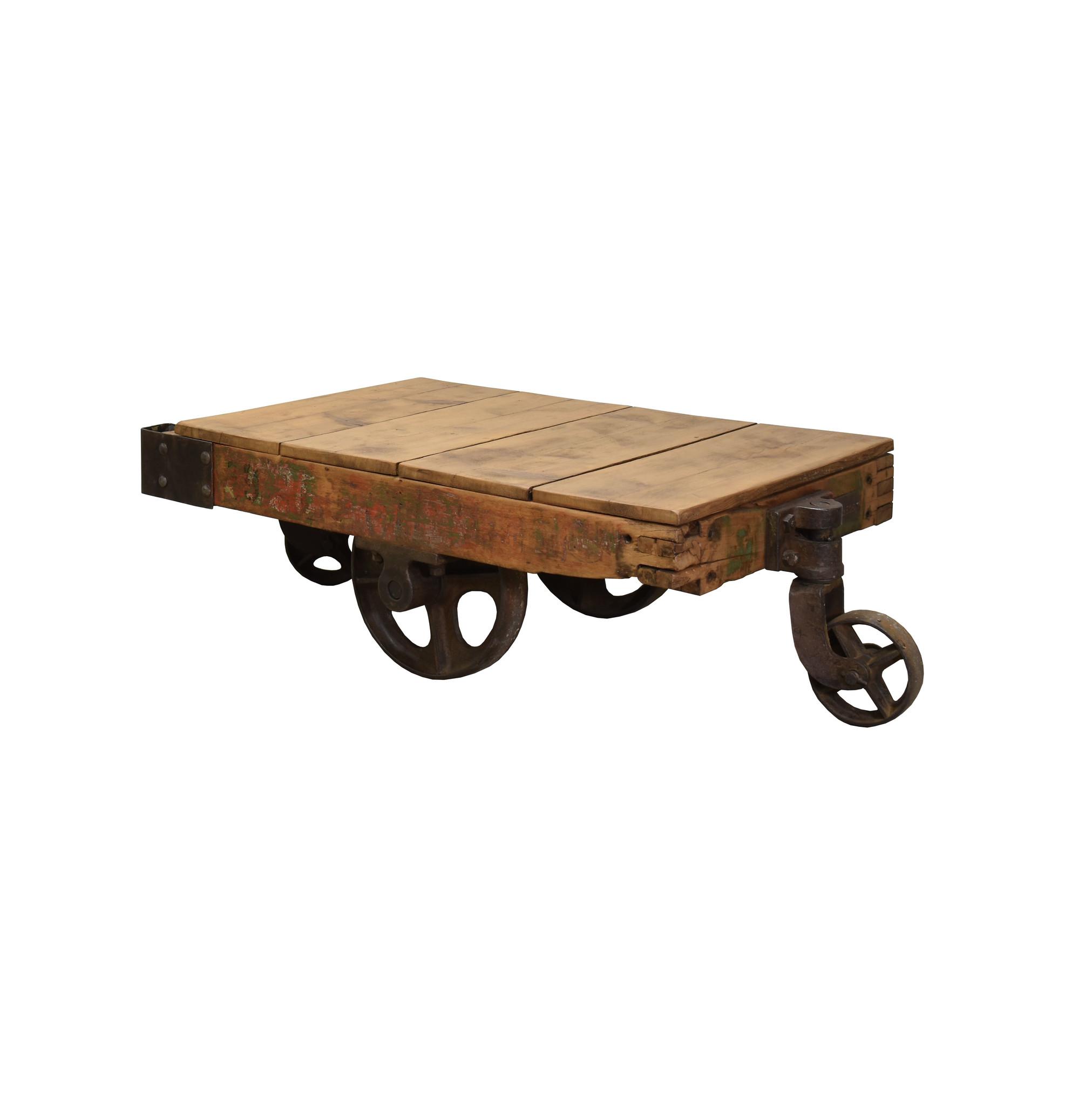 Stoere salontafel/bijzettafel