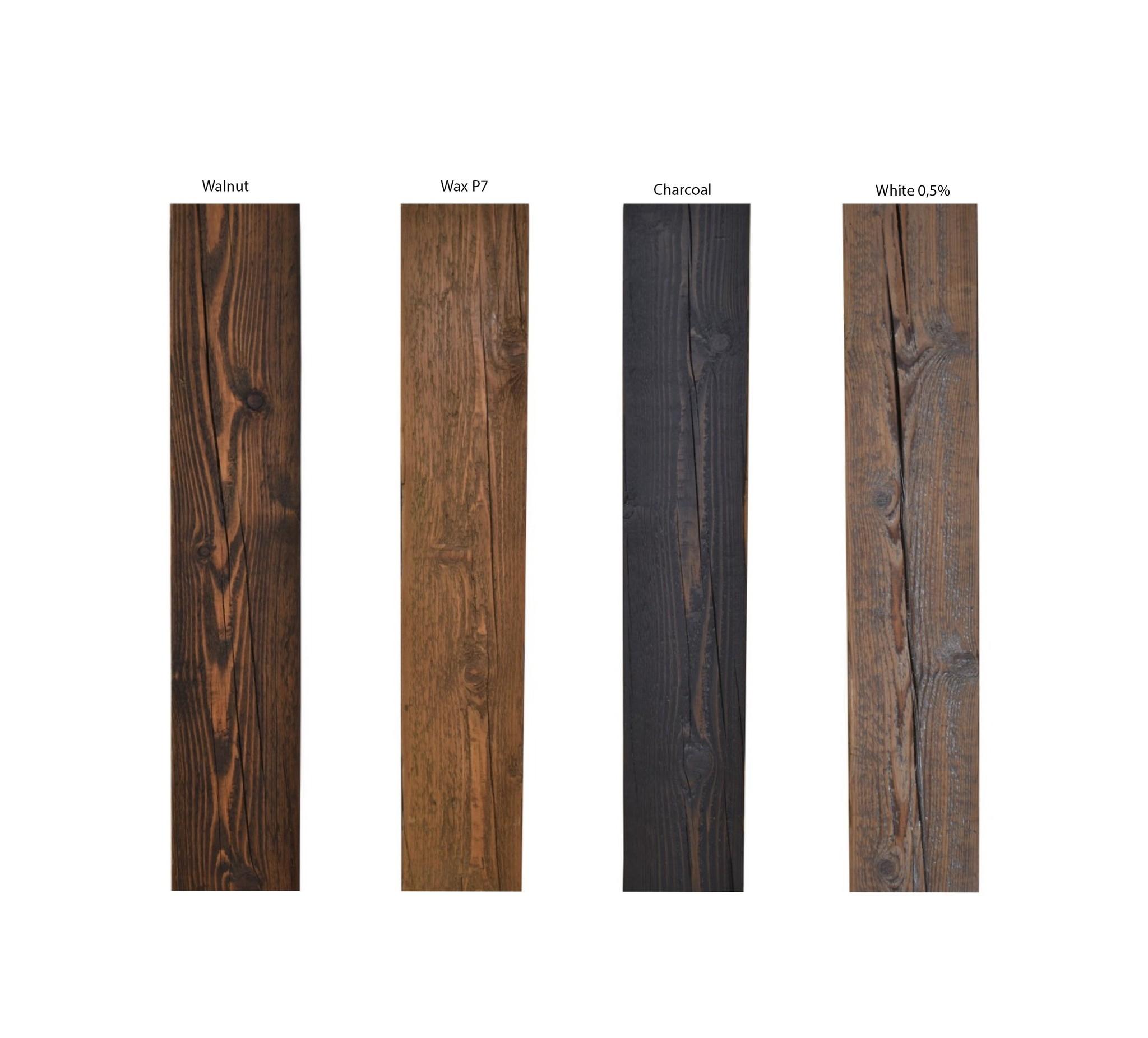 Sidetable robuust oud balkenhout massief