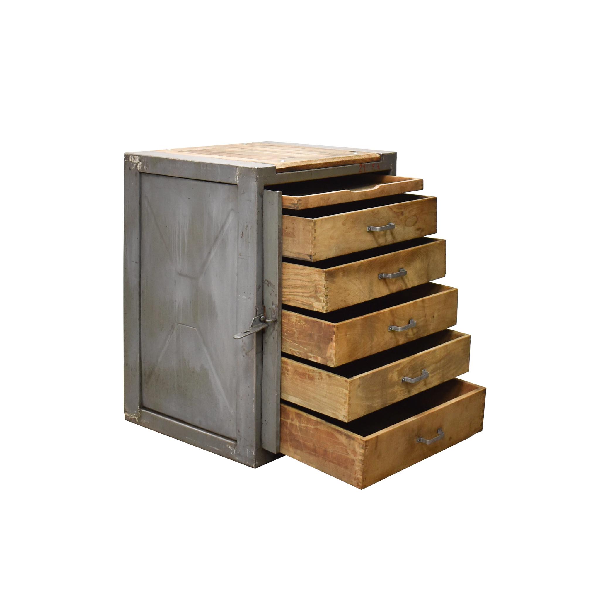 oldwood Industriële kast met lades