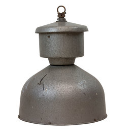 Industriële Franse lamp -orgineel