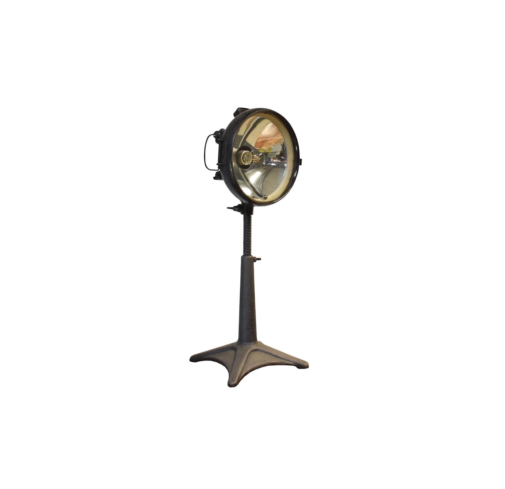 Carl zeiss jena Industriele tafellamp