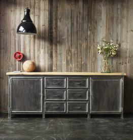 Industrieel meubel Wandkast op maat gemaakt