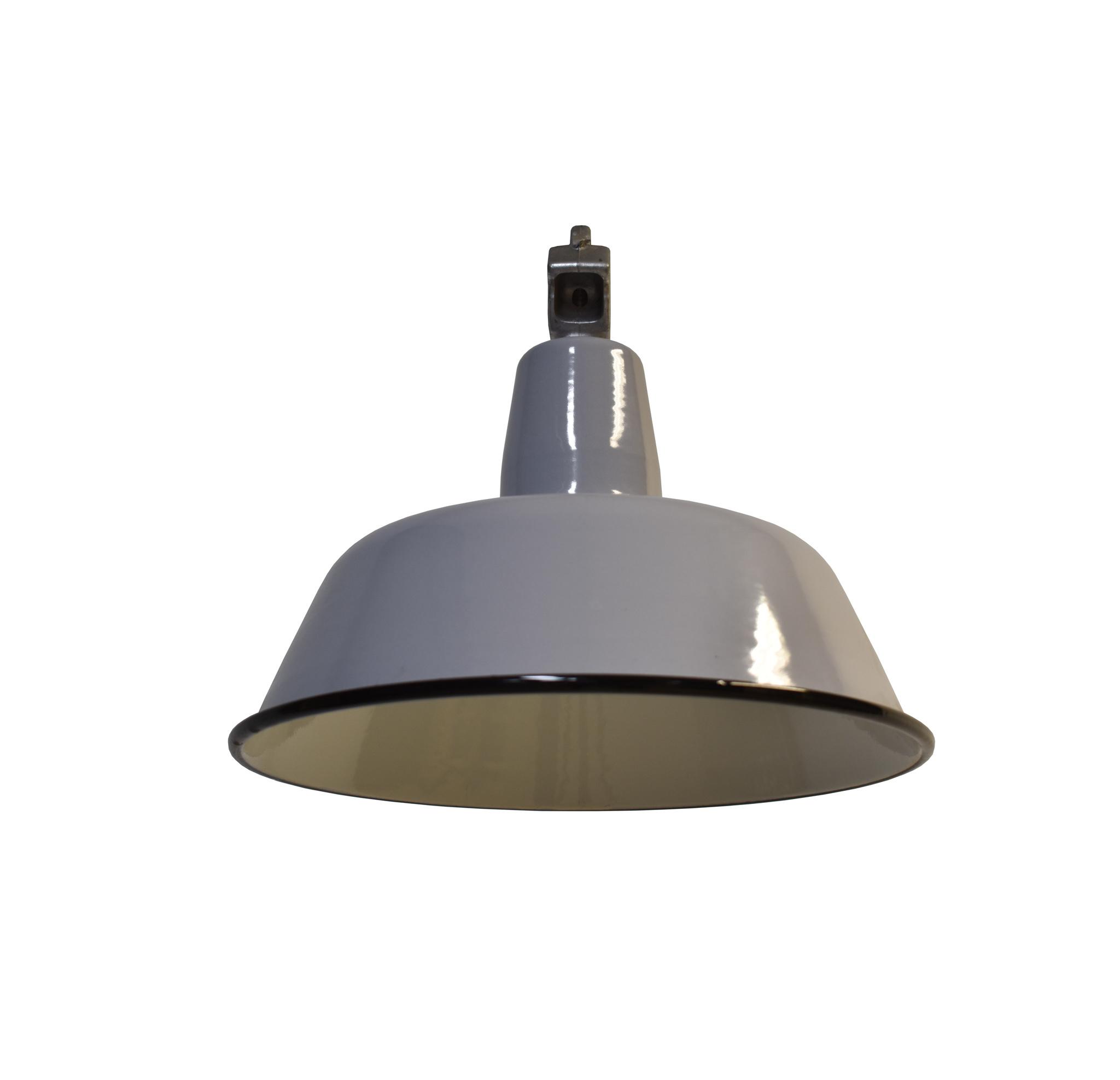 Industriële lamp grijs
