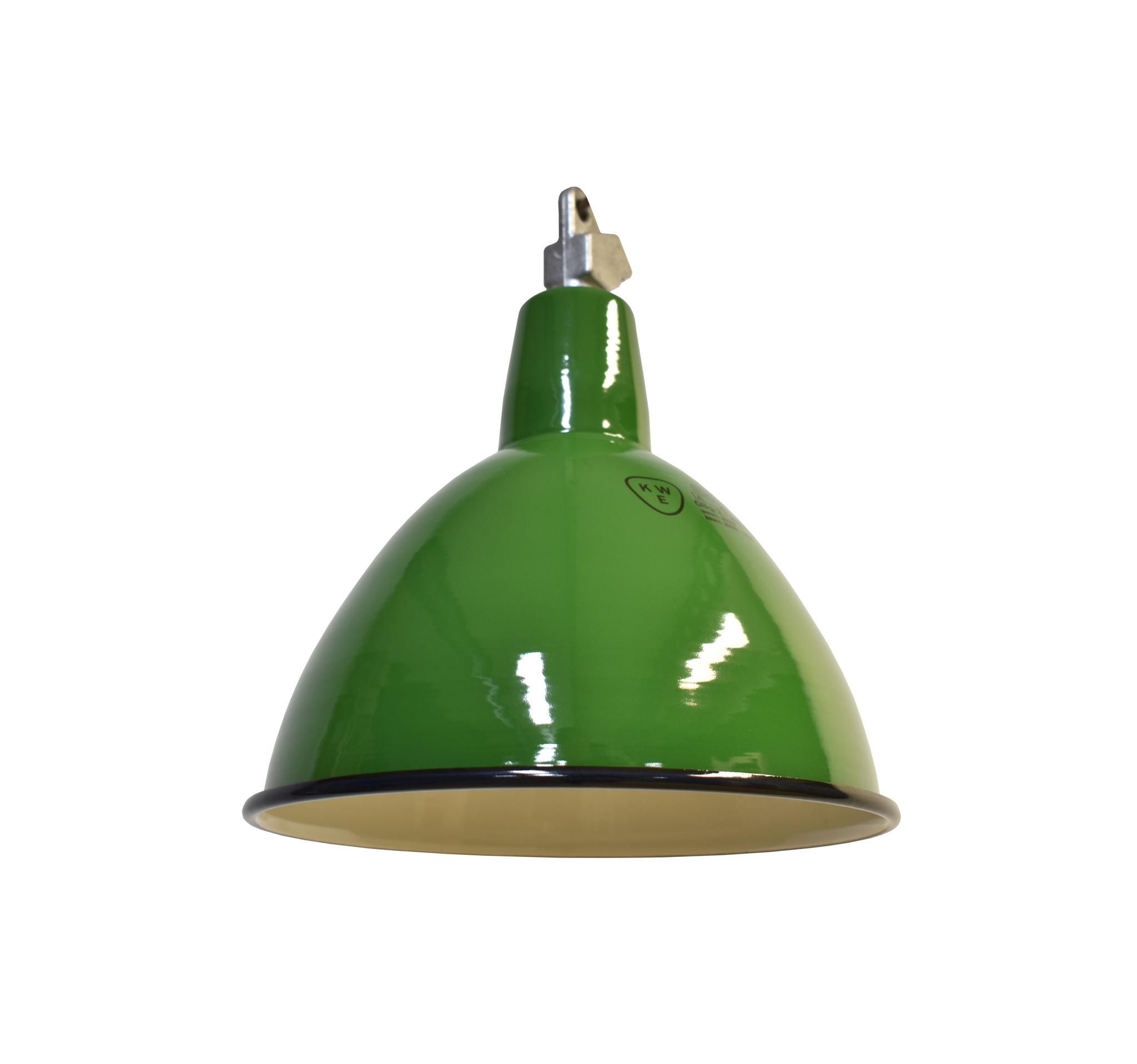 Industriële groene lamp
