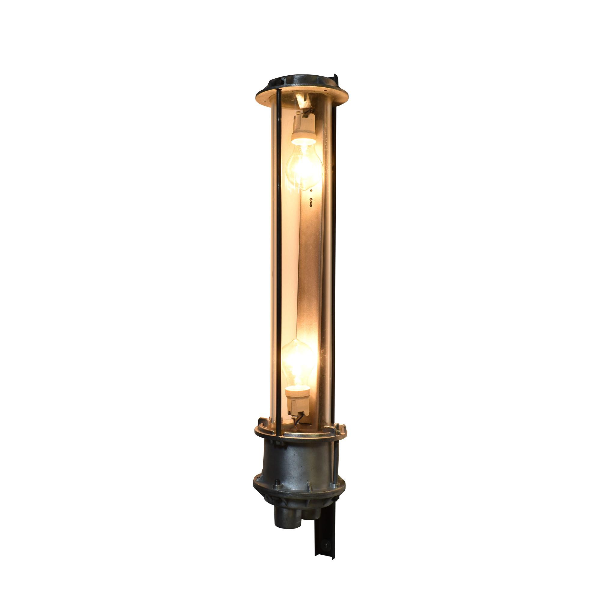 oldwood Gepolijste tube lamp
