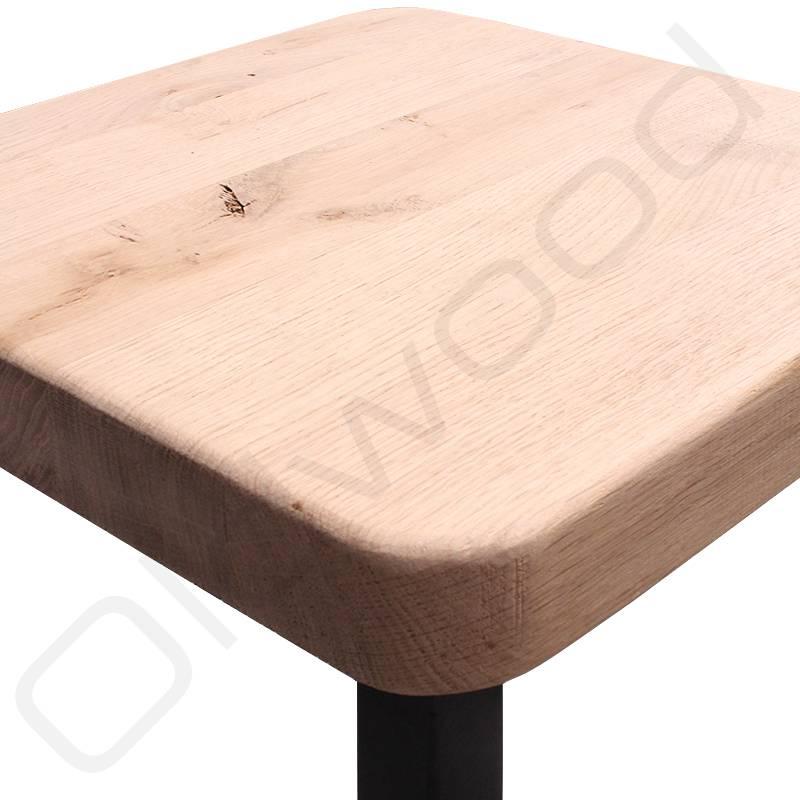 Horeca barkruk 'Dorien' met houten zitting
