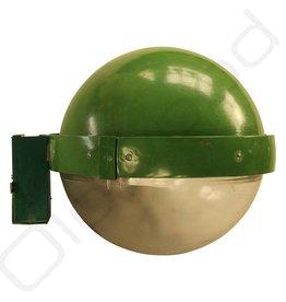 Industrial lamp / street lamp / Green