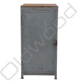 Old school industrial locker cabinet