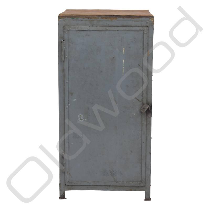 Old school industrial locker cabinet