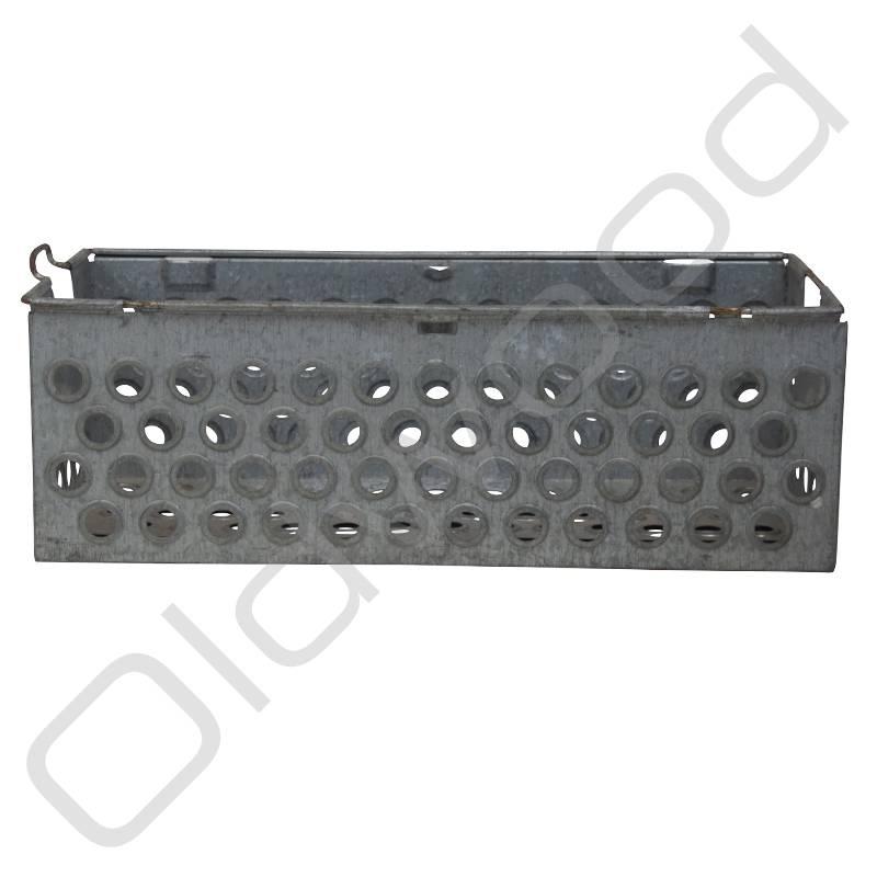 Vintage metal crate