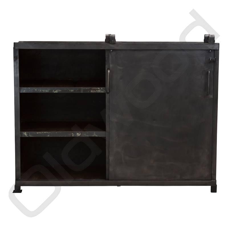Industrieel meubel Metalen industriële archiefkast