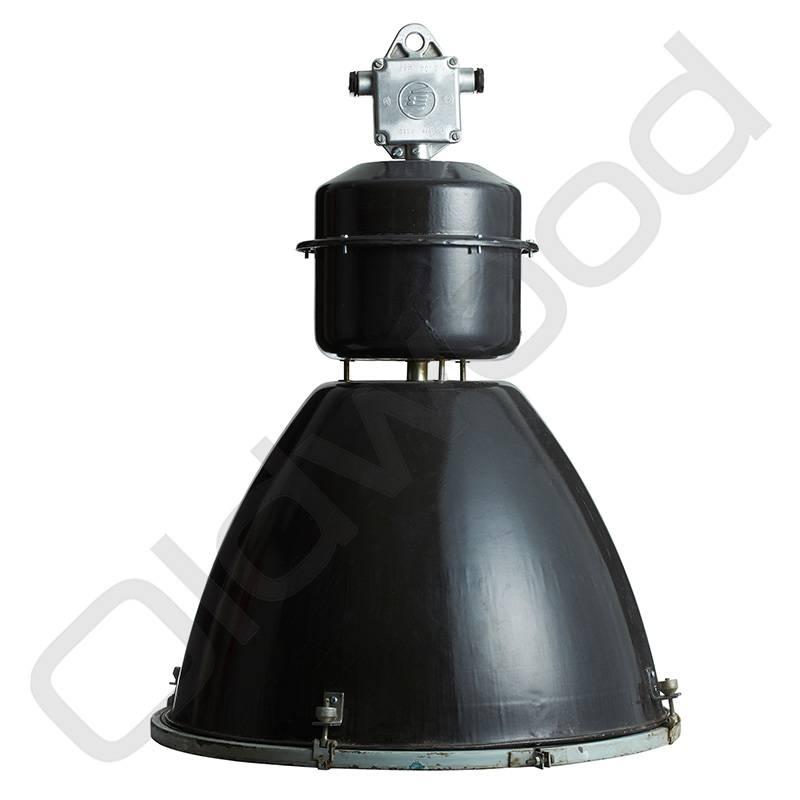 Industriële lamp - Viktor zwart (glas momenteel niet voorradig)