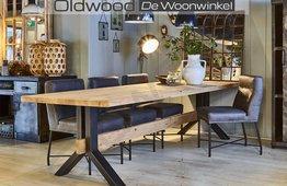 Eetkamerstoel Ferro Oldwood De woonwinkel Oldwood