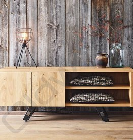 Tv meubel / dressoir met metalen poten