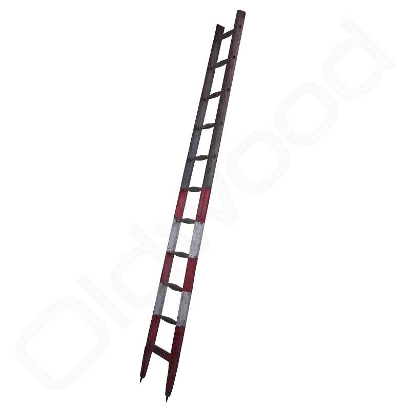 Vintage hooiberg ladder