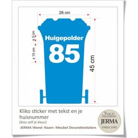 JERMA Kliko stickes