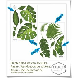 Walldecor Planten decoratie