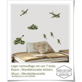 Walldecor Muurstickers soldaten decoratie stickers