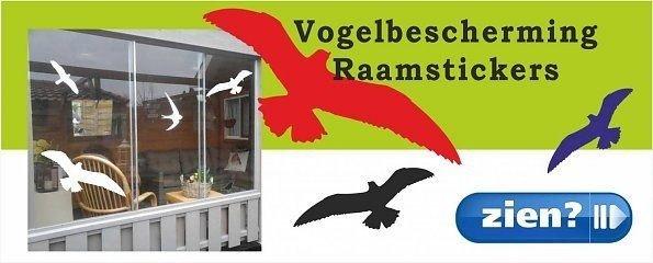 Vogelbescherming raamstickers