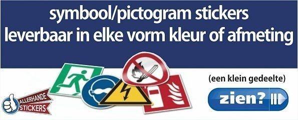 Stickers Pictogram Symbool