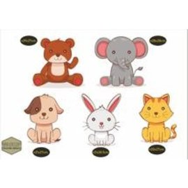 Walldecor Kinder-, Babykamer muur-, meubel-, raamsticker set.