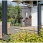 Walldecor Vogels raamstickers 5 vogels zittend op draad