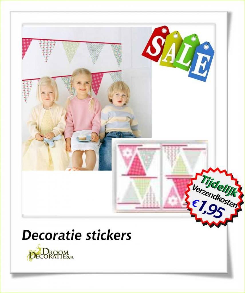 Kinderkamer Vlaggen Muurdecoratie Stickers Droomdecoraties Nl Thuis In Decoraties