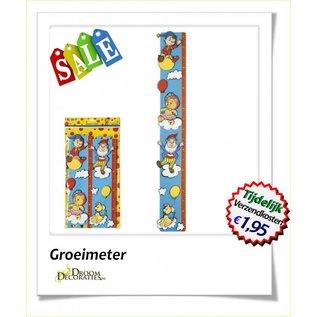 Uitverkoop SALE Kinderkamer Foamdecoratie Meetlat, groeimeter met kabouter Noddy