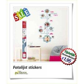 Uitverkoop SALE Fotolijst decoratie stickers