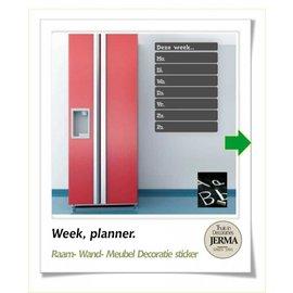 JERMA Memobord weekplanner