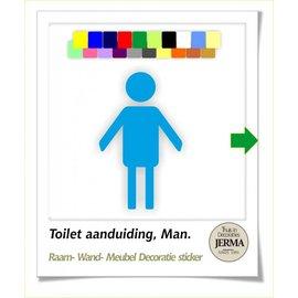 JERMA Toilet, heren.