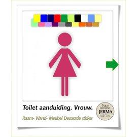 JERMA Toilet, dames.