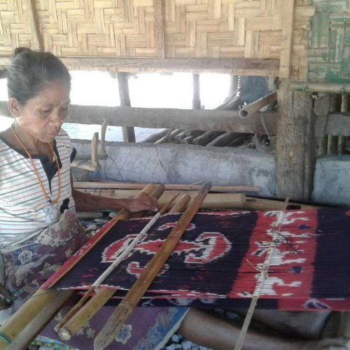 Ikat uit Semba, Indonesie
