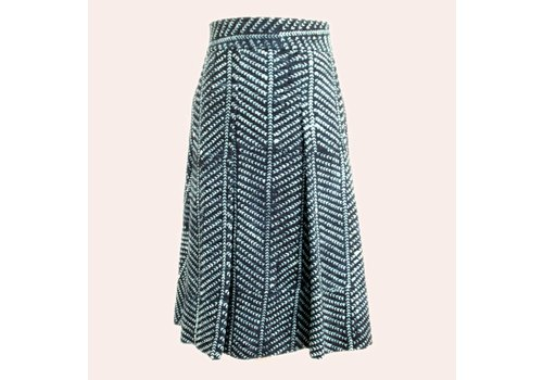 skirt Indigo stripe