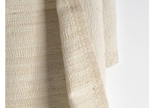 Off-white Nakshi Kantha Shawl
