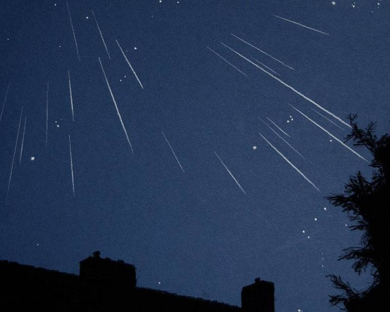 Vallende ster of meteoriet?