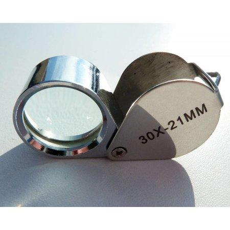 vergrootglas 30x 21mm