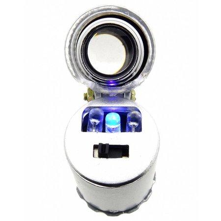 mini microscoop 60x met wit en UV led