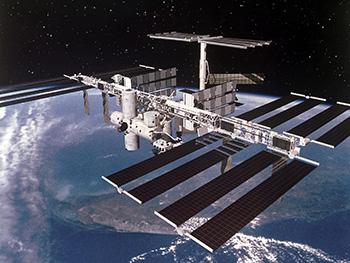 ISS ruimtestation