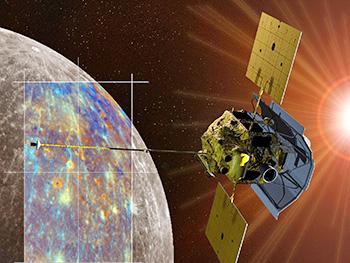 Messenger ruimte missie