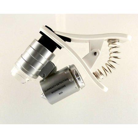 60 x microscoop voor smartphone, universeel