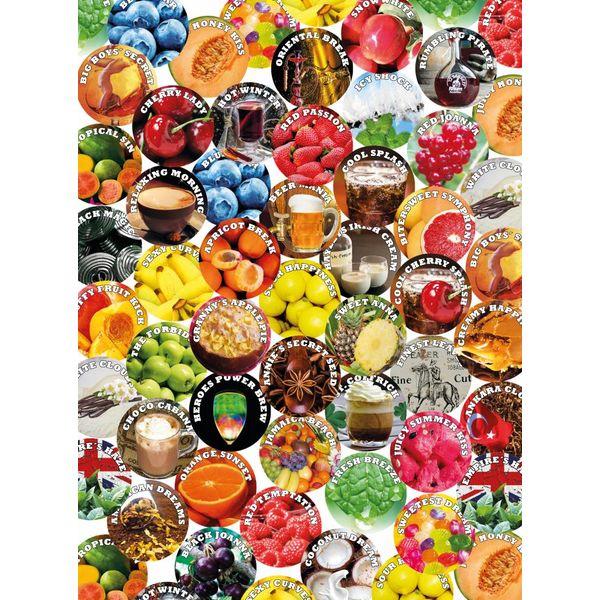 Aroma 10 x 30ml für Base e Liquids Lebensmittelaroma DIY 10 Sets a 10 Aromen mit je 30ml Konzentrat