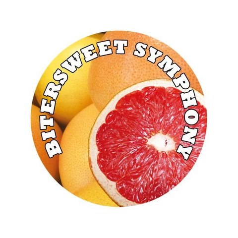 Easy Liquid Grapefruit  Overdosed Shake and Vape 100ml